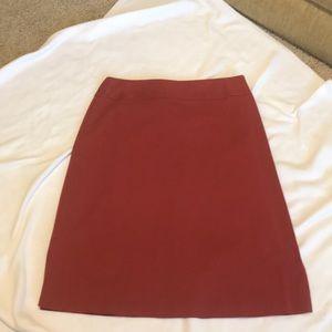 Red Banana Republic Skirt size 10